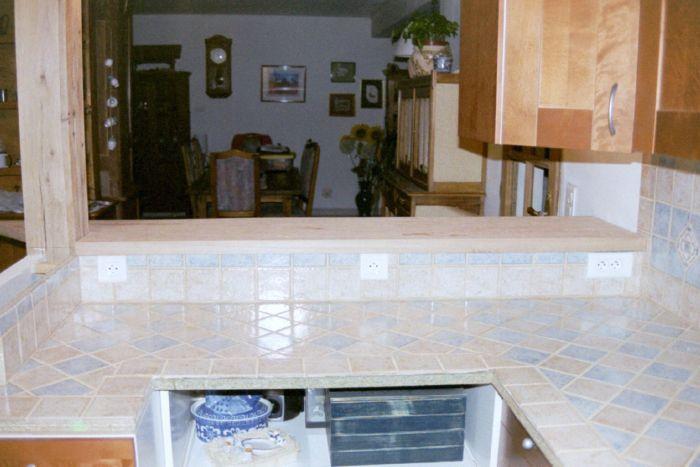 Carrelage plan de travail cuisine ext rieure images - Carrelage cuisine exterieure ...